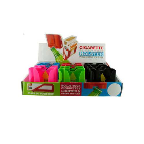 Cigarette Holster with Bottle opener Countertop Display ( Case of 48 )