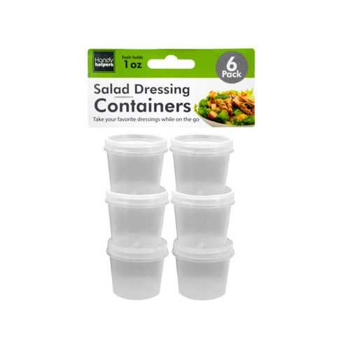 1 oz Salad Dressing Containers Set ( Case of 48 )