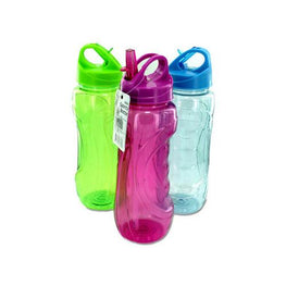 28 oz Sports Water Bottle with Flip Straw ( Case of 24 )