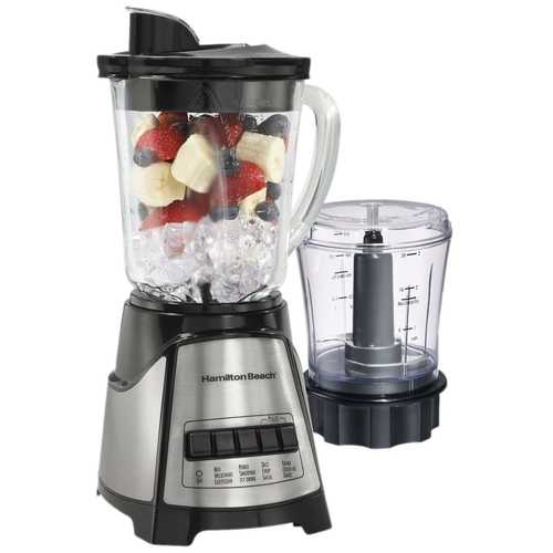 700-Watt Countertop Blender Food Chopper with Stainless Steel Blades