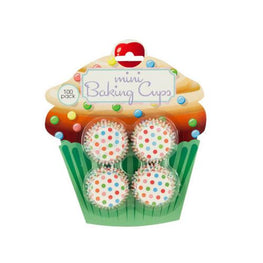 Mini Polka Dot Print Baking Cups ( Case of 96 )