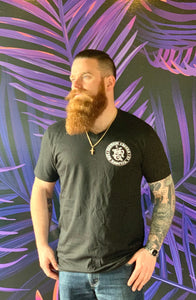 NCC/Tatuaje Black V-Neck T-shirt