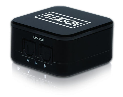 Front View Flexson 2-way Digital Audio Switcher For SONOS PLAYBAR