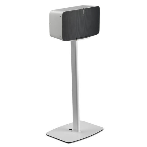 Front Sample View FLEXSON Floor Stand for Sonos PLAY:5 (Single, White)