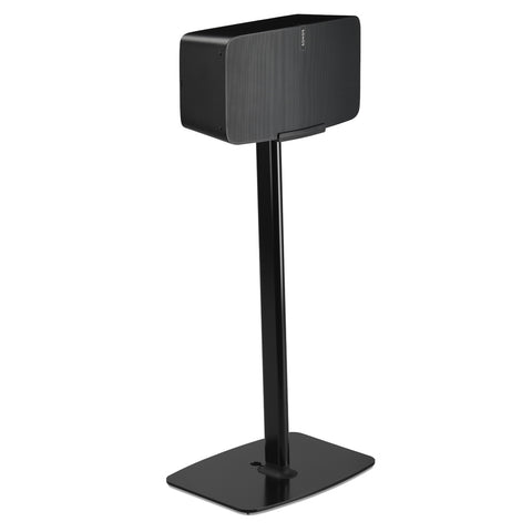 Sample Front View FLEXSON Floor Stand for Sonos PLAY:5 (Single, Black)