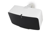 Alt Angle 2 Sample View FLEXSON Horizontal Wall Mount for Sonos PLAY:5 (Single, White)