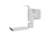 Angle View FLEXSON Horizontal Wall Mount for Sonos PLAY:5 (Single, White)