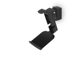Angle View FLEXSON Horizontal Wall Mount for Sonos PLAY:5 (Single, Black)