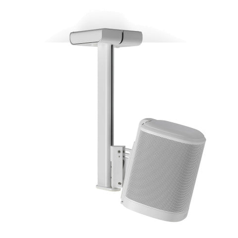 Sample View FLEXSON Ceiling Mount for Sonos One or PLAY:1 (Single, White)