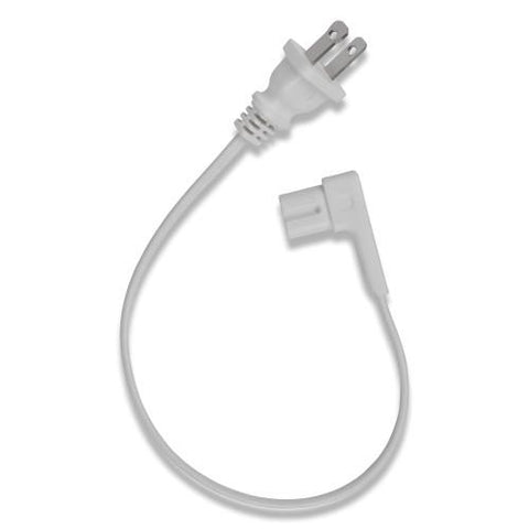"Over View Flexson Short Power Cable for SONOS PLAY:1 (White, 13.7"")"