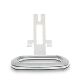 Front View Flexson Desk Stand for the SONOS PLAY:1 (Single, White)