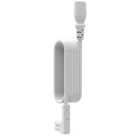Over View Flexson Right-Angle Extension Cable for SONOS PLAY:1 (White, 9.84')