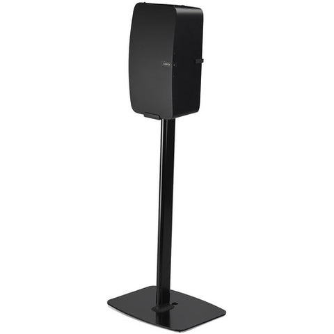 FLEXSON Vertical Floor Stand for SONOS PLAY:5 (Single, Black)