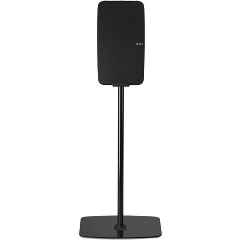 Sample View FLEXSON Vertical Floor Stand for Sonos PLAY:5 (Single, Black)