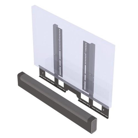 Sample View Flexson TV Mount Attachment for SONOS PLAYBAR (Black)