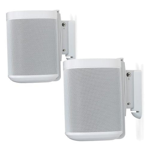 Pair Sample View Flexson Wall Mount for SONOS One (Pair, White)
