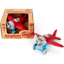 Green Toys - Airplane, Red