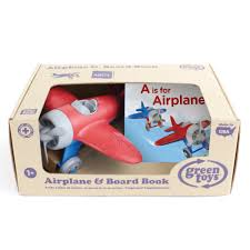 Green Toys - Airplane & Board Book Pack