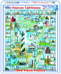 Jigsaw - American Lighthouses 1000 pc