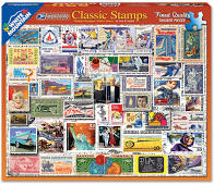 Jigsaw - Classic Stamps 550 pc