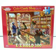 Jigsaw - Cozy Candy Shop 300 pc