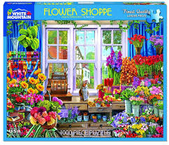 Jigsaw - Flower Shoppe 1000 pc