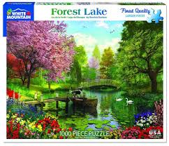 Jigsaw - Forest Lake 1000 pc