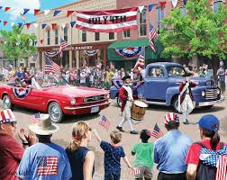 Jigsaw - 4th of July Parade 1000 pc