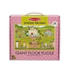 Melissa & Doug Giant Floor Puzzle - Princess Fairyland