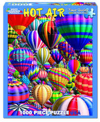 Jigsaw - Hot Air Balloon 1000 pc