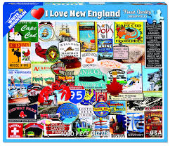 Jigsaw - I Love New England 1000 pc