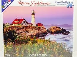 Jigsaw - Maine Lighthouse 1000 pc