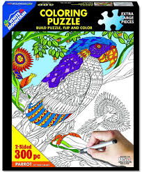 Jigsaw - Parrot Coloring 300 pc