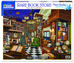 Jigsaw - Rare Book Store 1000 pc