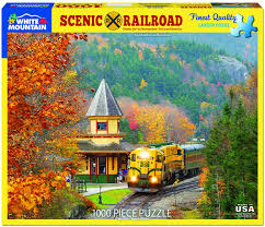 Jigsaw - Scenic Railroad 1000 pc