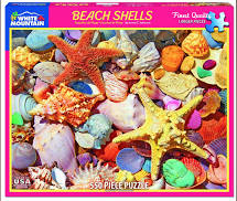 Jigsaw - Beach Shells 550 pc