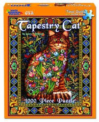 Jigsaw - Tapestry Cat 1000 pc