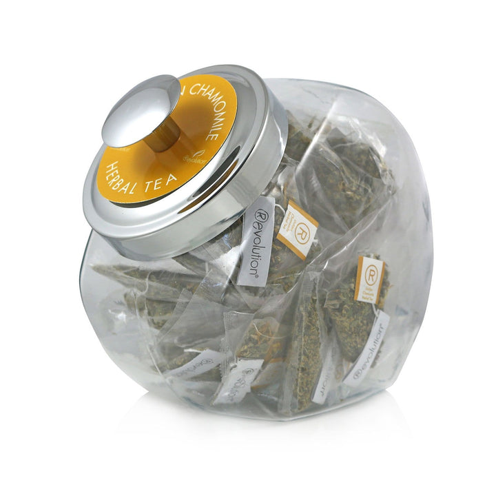 Golden Chamomile Herbal Tea 20 Count Jar