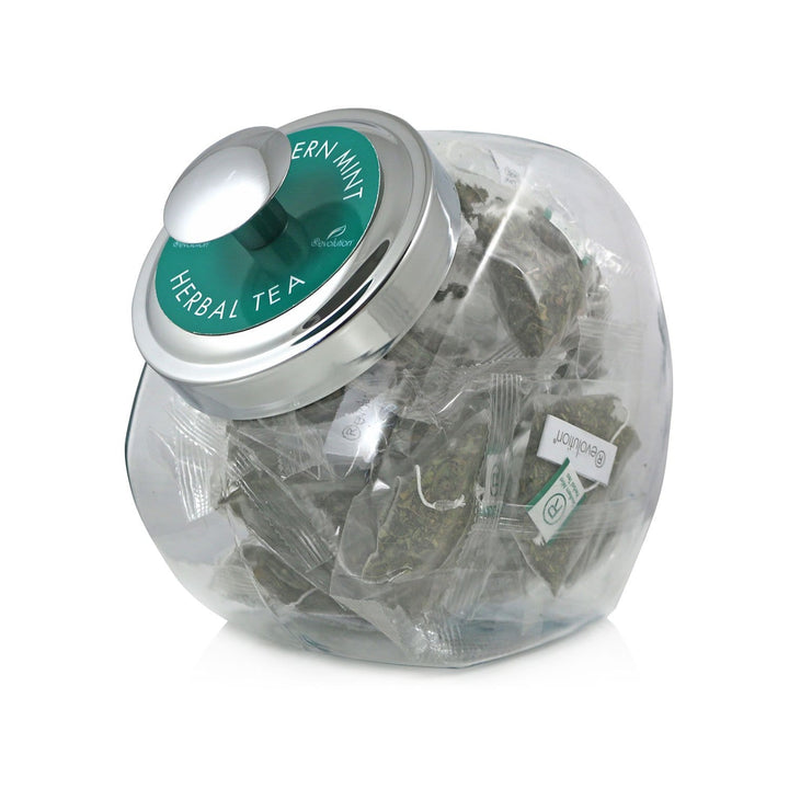 Southern Mint Herbal Tea 20 Count Jar