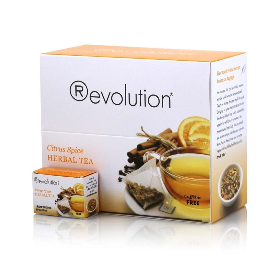 Revolution Citrus Spice Herbal Tea 30 Count