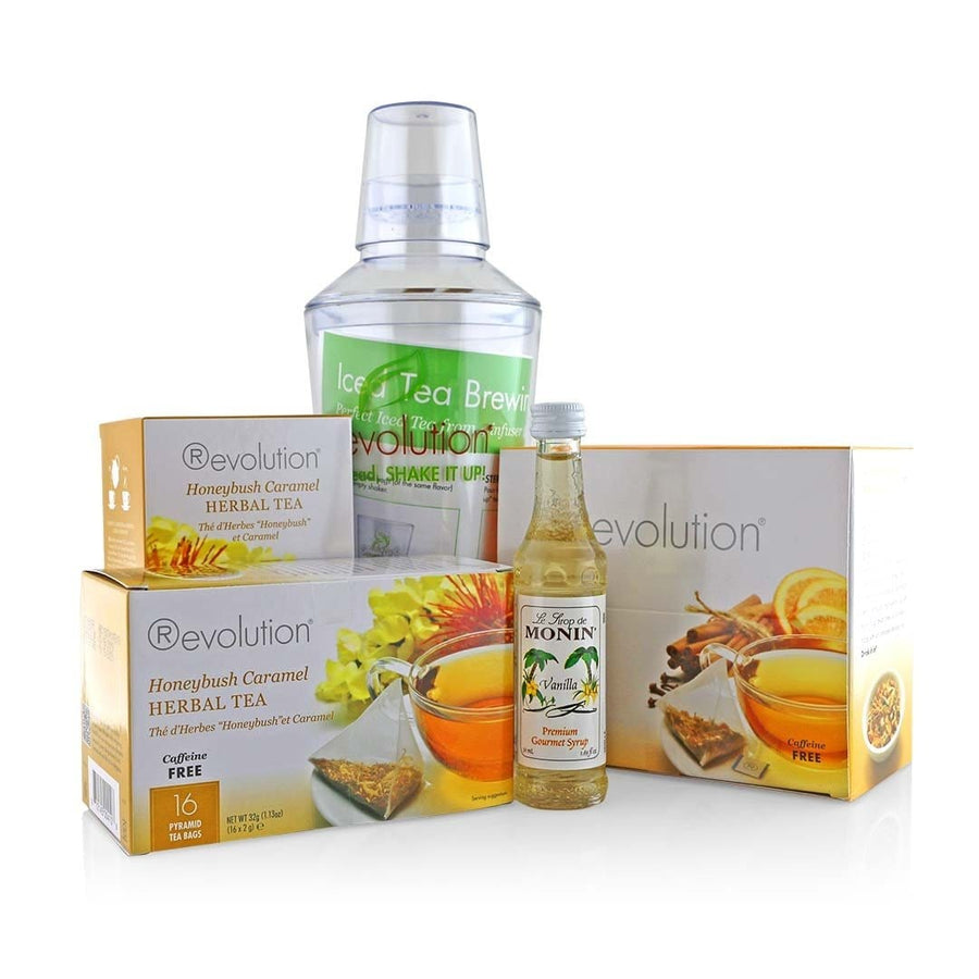 Revolution Herbal Tea Bundle with Shaker