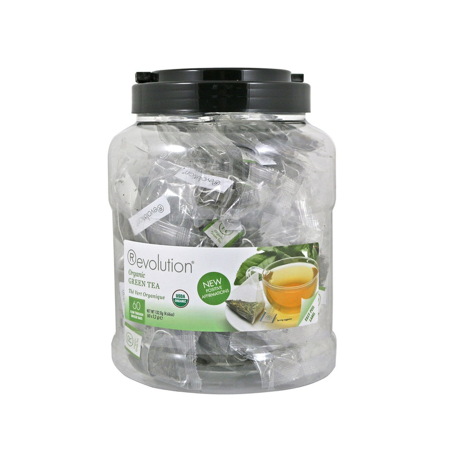 Organic Green Tea 60 Count