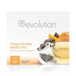 Orange Chocolate Green Tea 30 Count