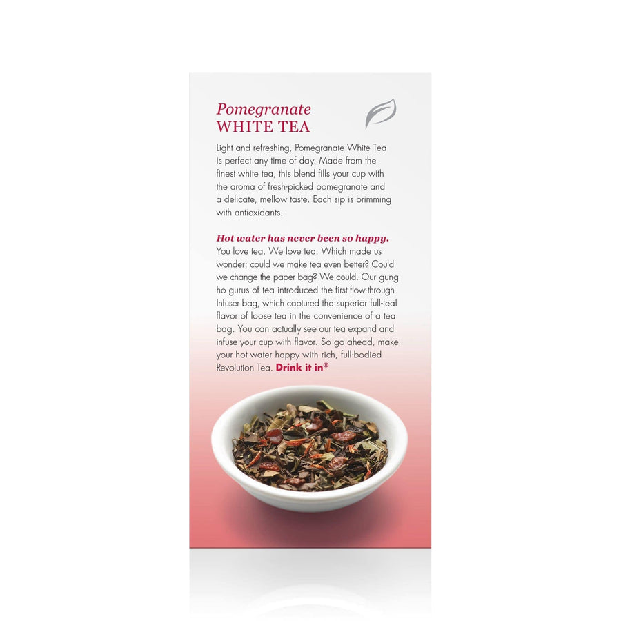 Pomegranate White Tea 16 Count