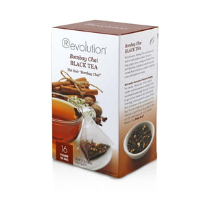 Revolution Bombay Chai Black Tea 16 Count