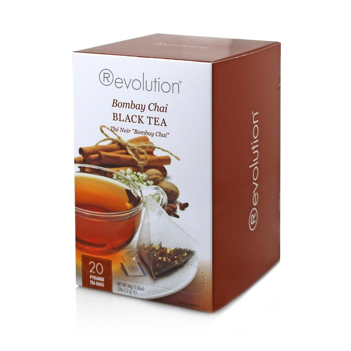 Revolution Bombay Chai Black Tea 20 Count