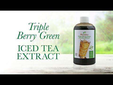 Triple Berry Green Iced Tea Extract - 15 Servings