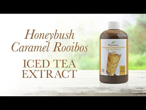 Honeybush Caramel Rooibos Iced Tea Extract - 60 Servings