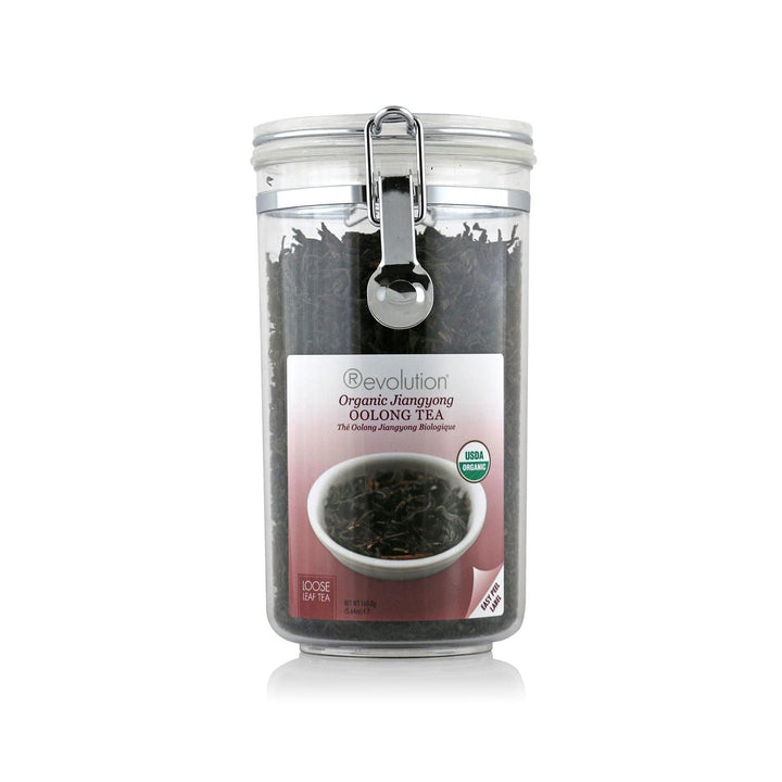 Organic Jiangyong Oolong Tea Loose Leaf Jar