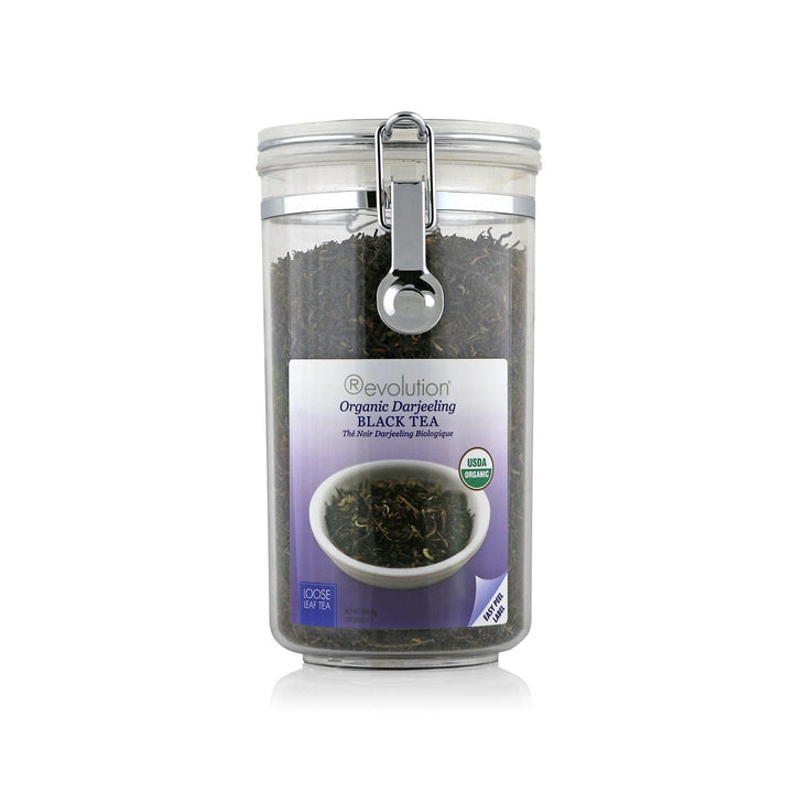 Organic Darjeeling Black Tea Loose Leaf Jar